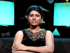 VID-20140205-PV0001-Chennai (IT) Tamil 25 yrs old unmarried beautiful and hot TV anchor Ms. Girija Sree (FM size # 38B-30-34) speaking sexily with sexologist to 24 yrs old Madurai Deva in Captian TV &lsquo_Andharangam&rsquo_ show sex video-1
