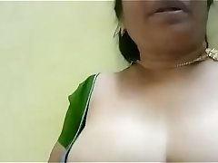desi indian tamil aunty mahalakshmi dirty talk video 4 - xhandx